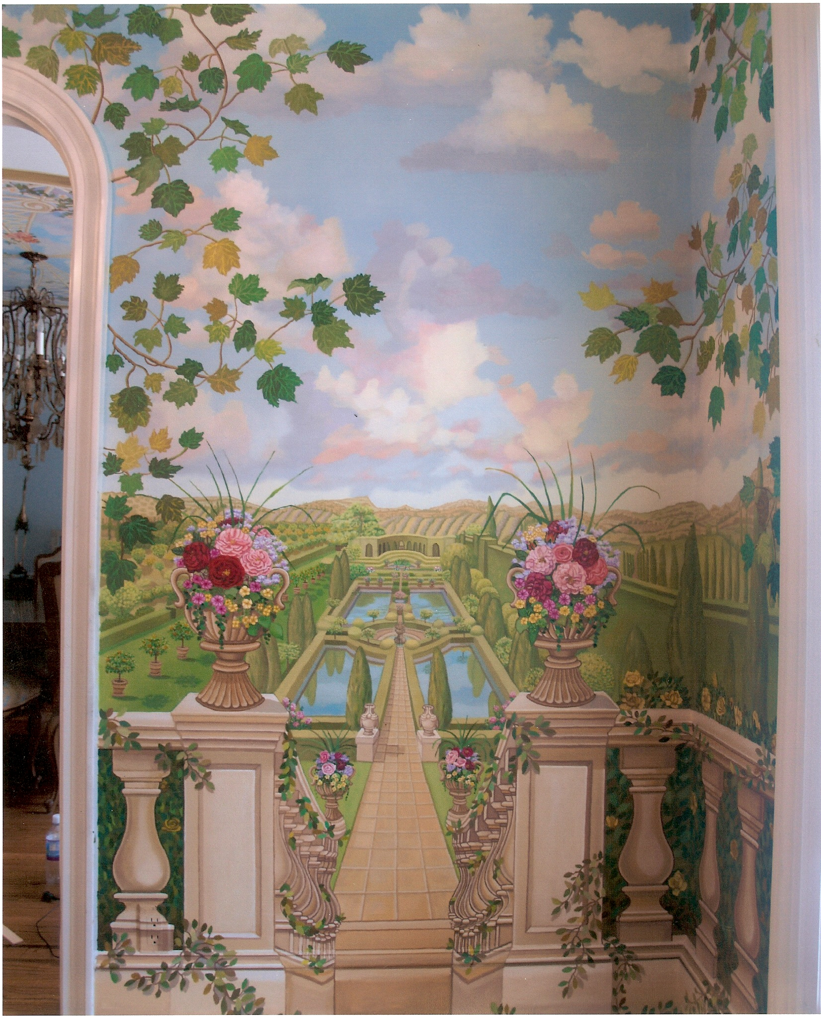 New York Wall Murals For Bedrooms Bonnie Siracusa Murals Amp Fine Art