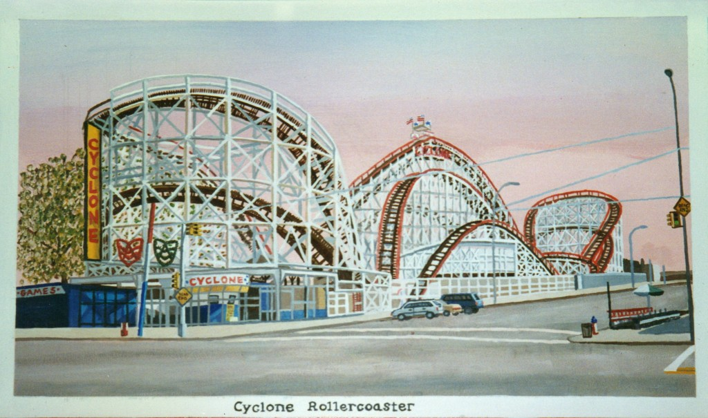 Cyclone Rollercoaster
