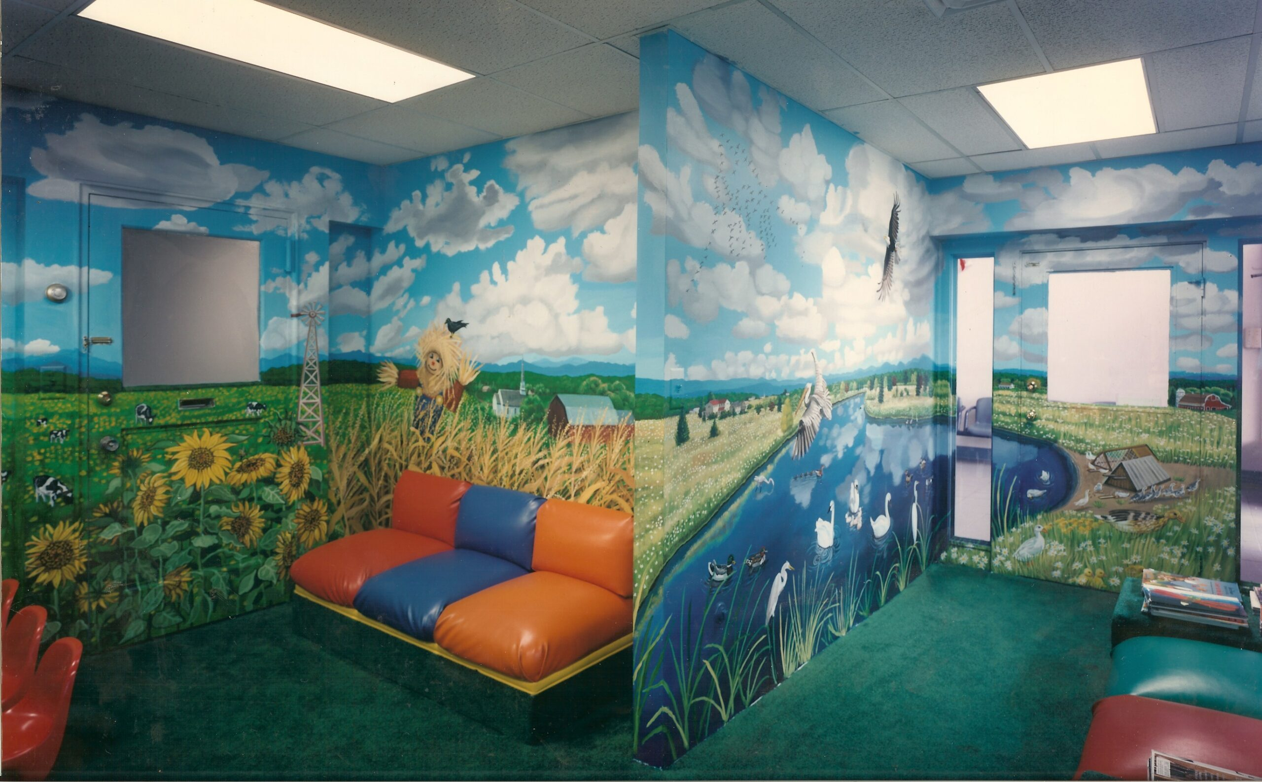 Pediatric Dental Office Mural in Rockville Centre, NY