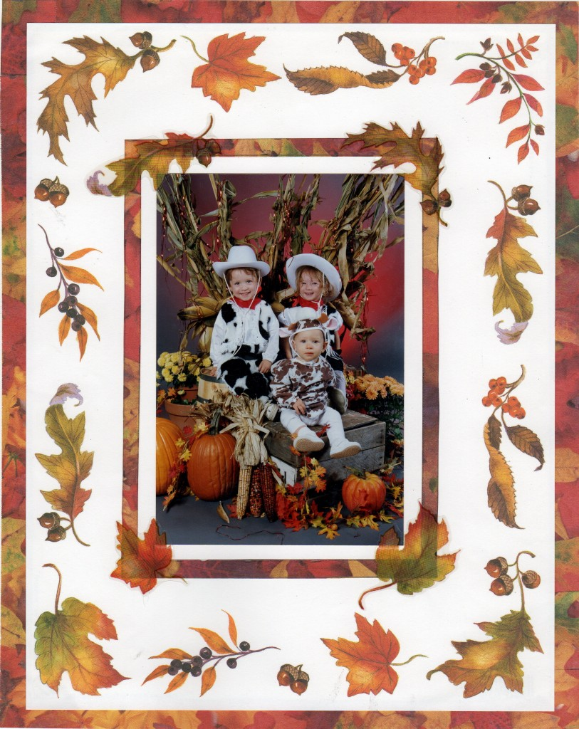 First Halloween portrait edited