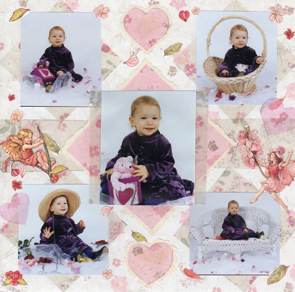 Katie 1 year old portrait