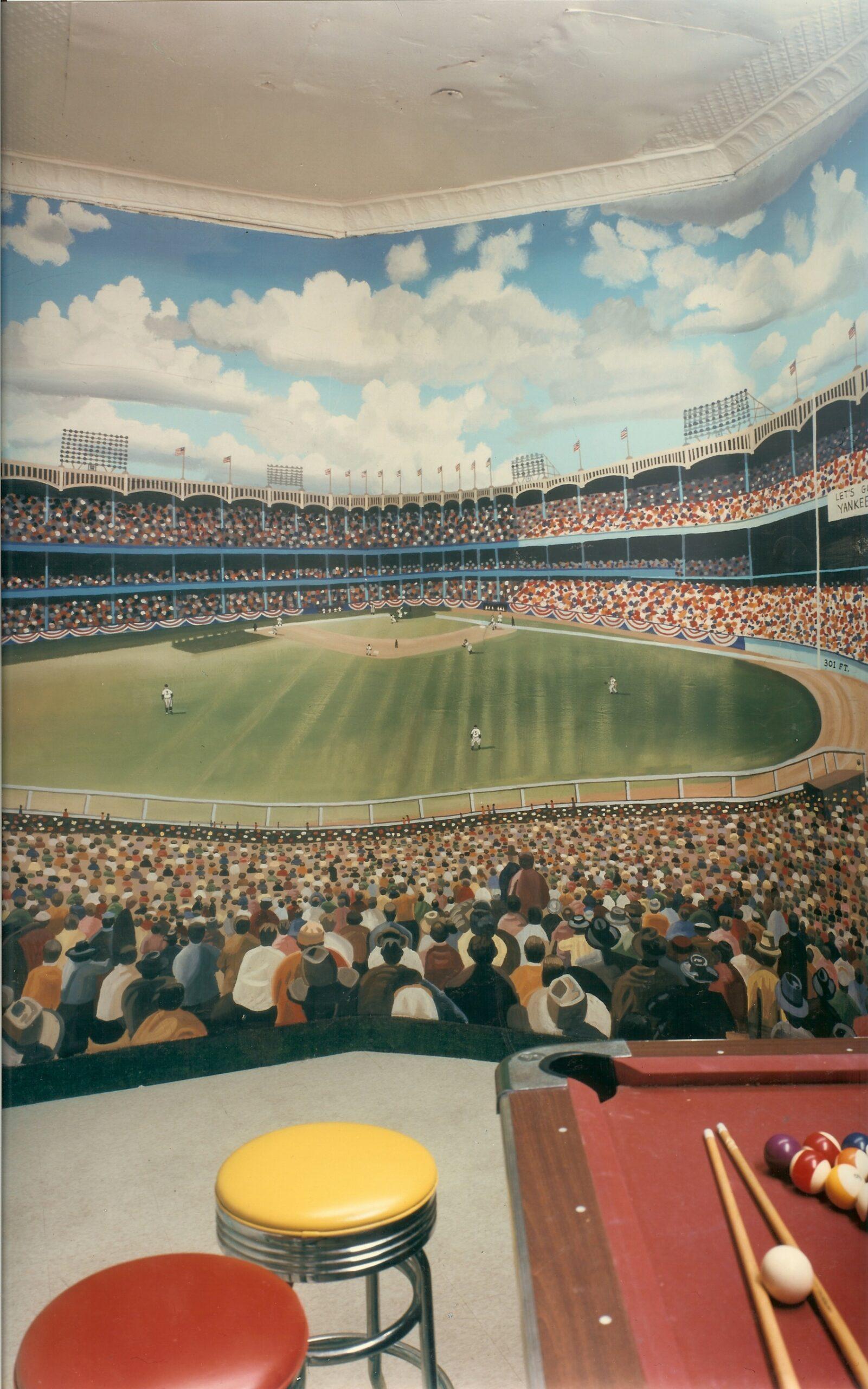 Bonnie Siracusa Murals Fine Art Gallery Sports Murals