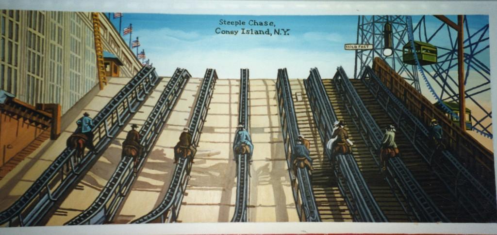 Steeple Chase Horses