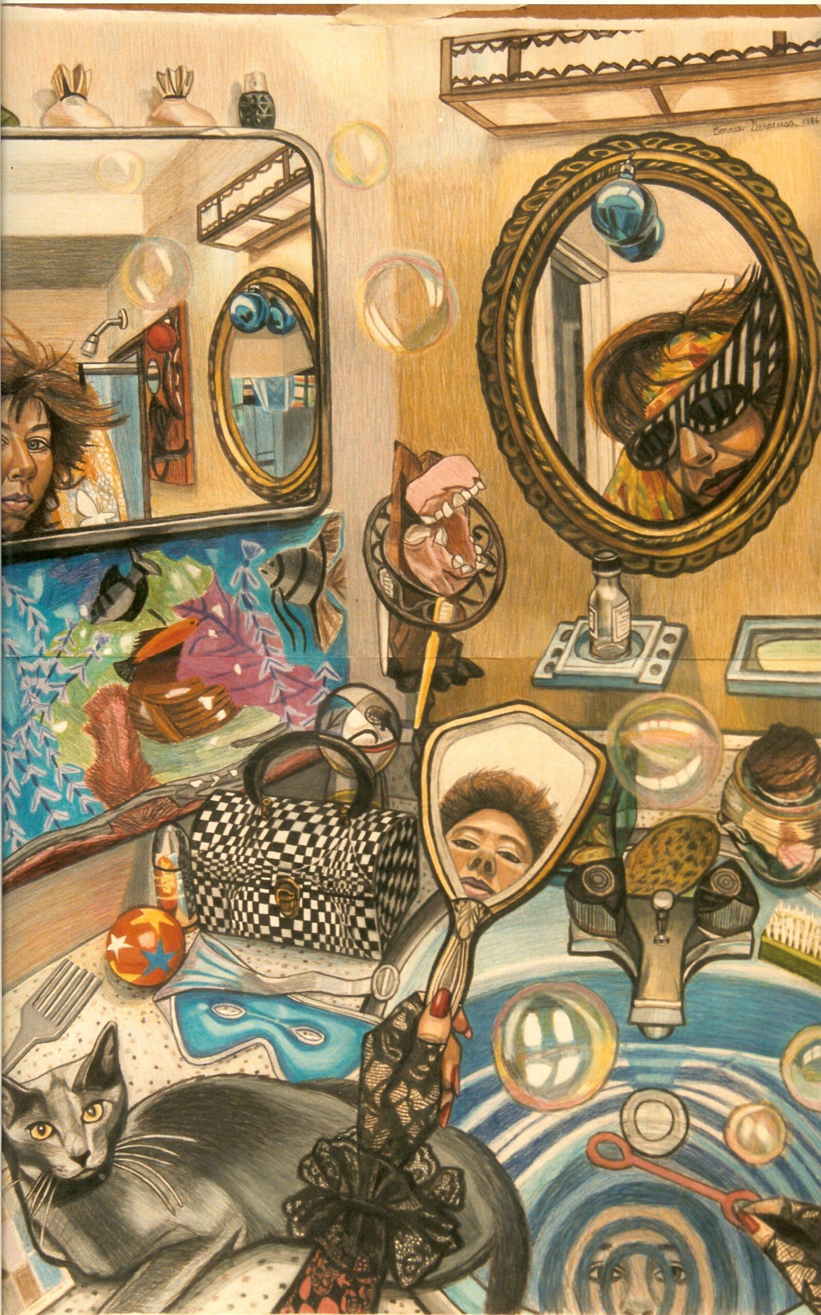 Bonnie Siracusa Murals Fine Art Gallery Self Portraits