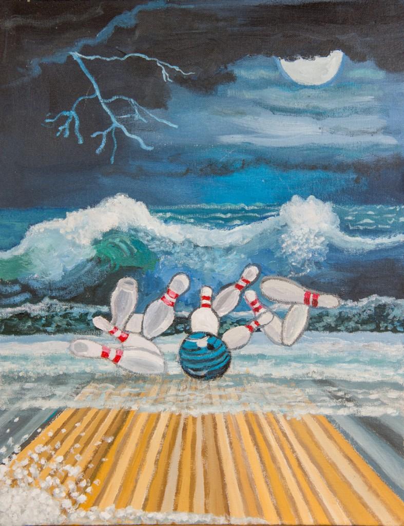 Beach Bowling-3