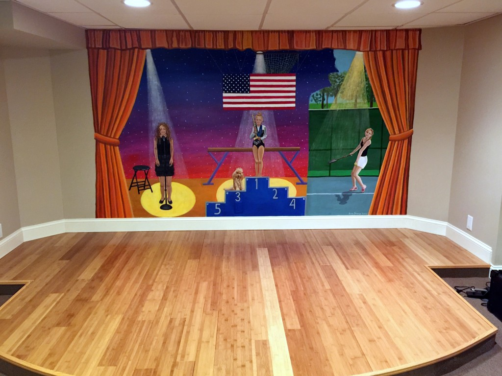 Final mural completed