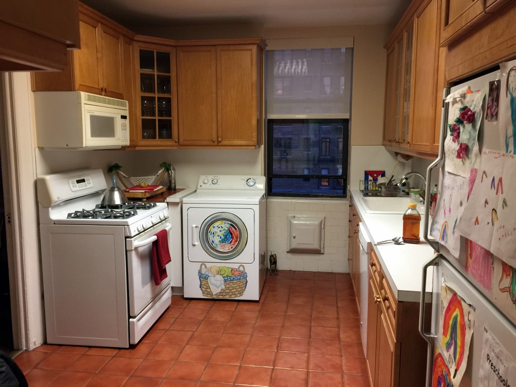 Linda Lipson overall after shot of painted dryer in kitchen 1