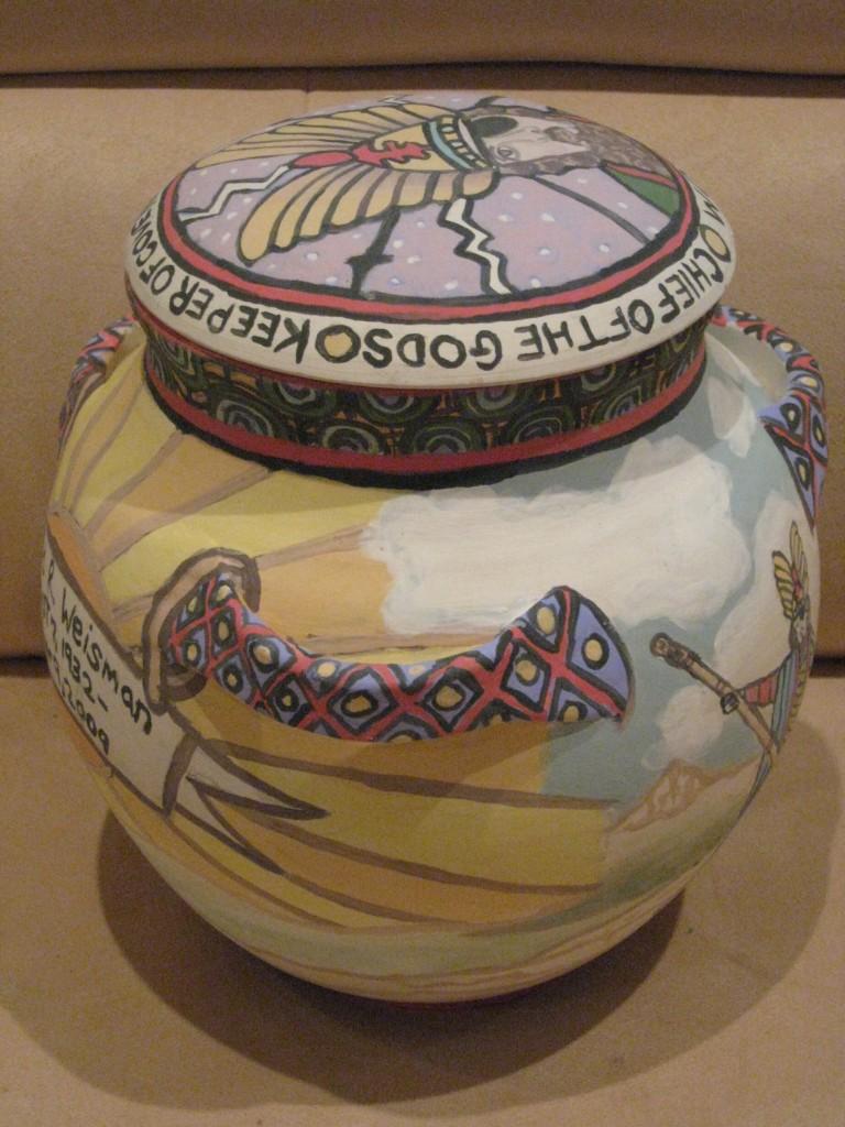 Ceramic Urn for David Weisman Side