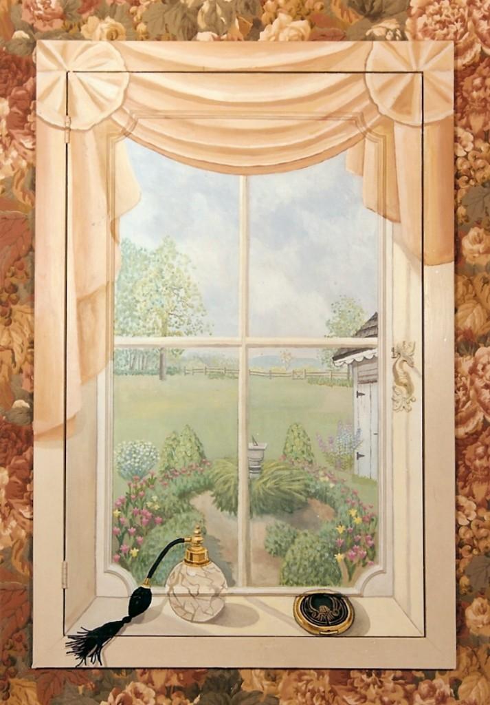 Bonnie Siracusa Murals Fine Art Gallery Cabinets