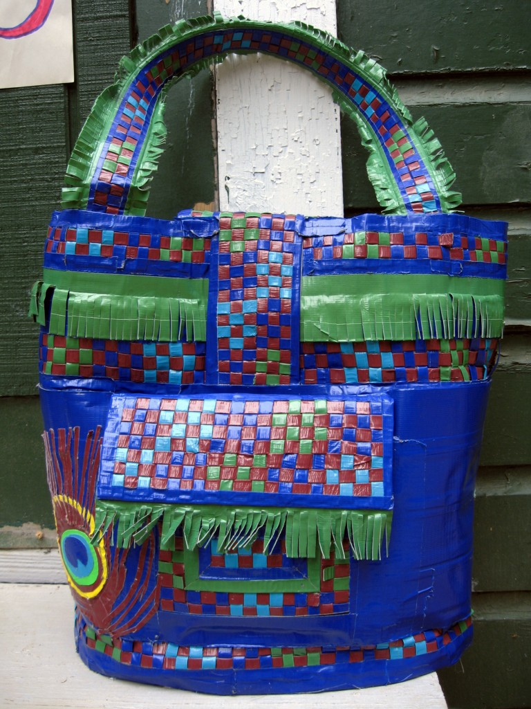 Peacock Pocketbook back