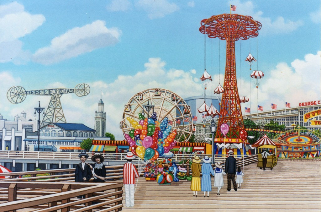 Coney Island Boardwalk Brooklyn