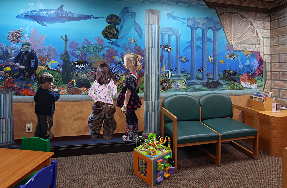 Commercial murals bonnie siracusa murals fine art for Commercial mural painting